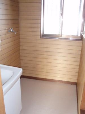 コーポ中田B 201号室の洗面所