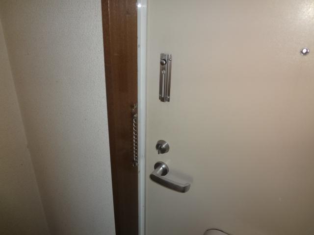 タウンハイツ初沢 205号室のセキュリティ