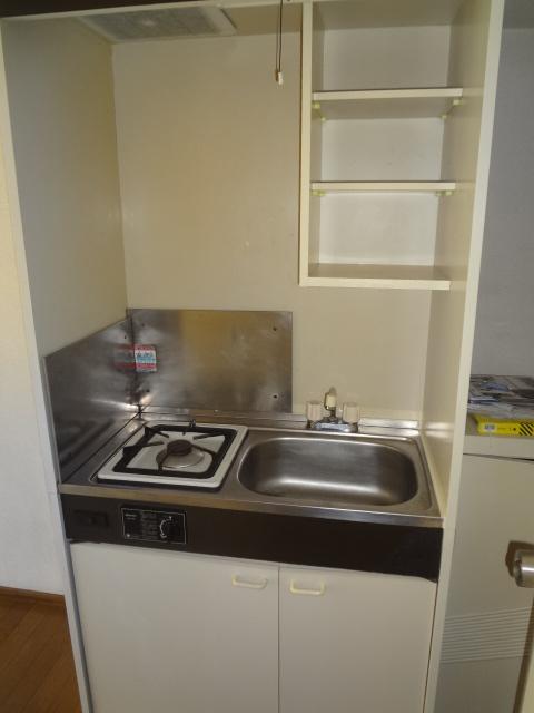 タウンハイツ初沢 205号室のキッチン