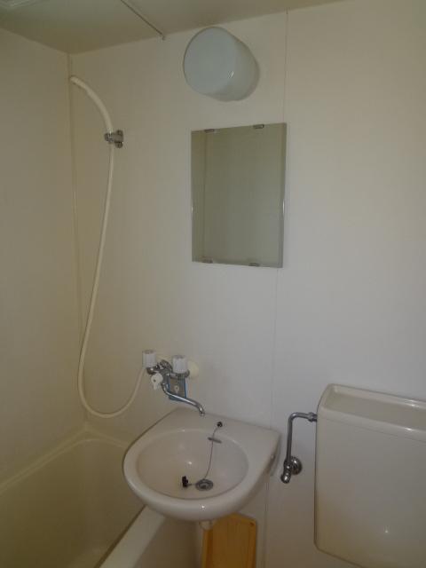 タウンハイツ初沢 205号室の洗面所