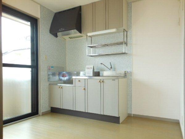 ウォーターミル 102号室のキッチン