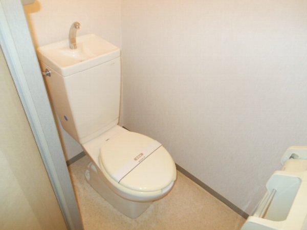 ウォーターミル 102号室のトイレ
