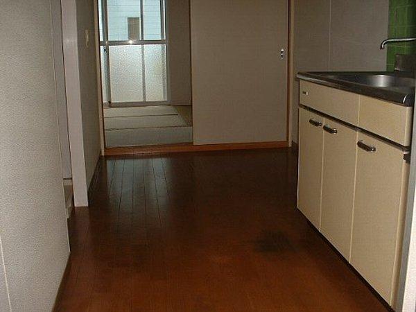 メゾンド・イナガキ 203号室のキッチン