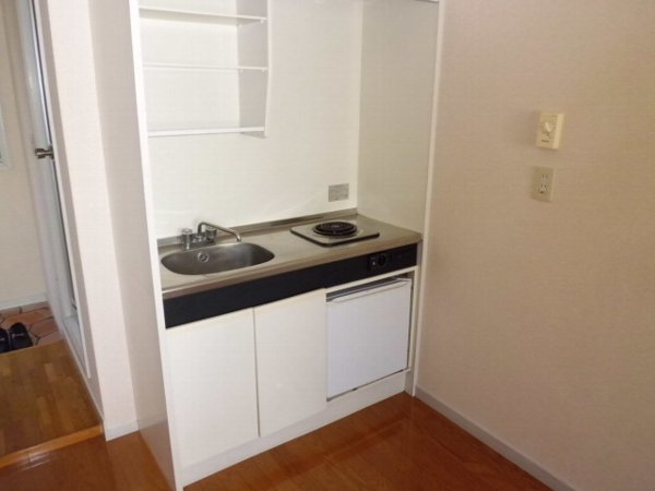 サマックス ブラウン 201号室のキッチン
