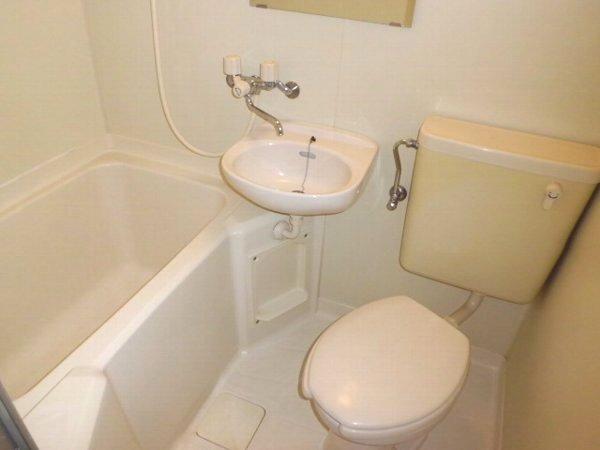 サマックス ブラウン 201号室の風呂