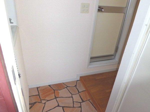 サマックス ブラウン 201号室の玄関