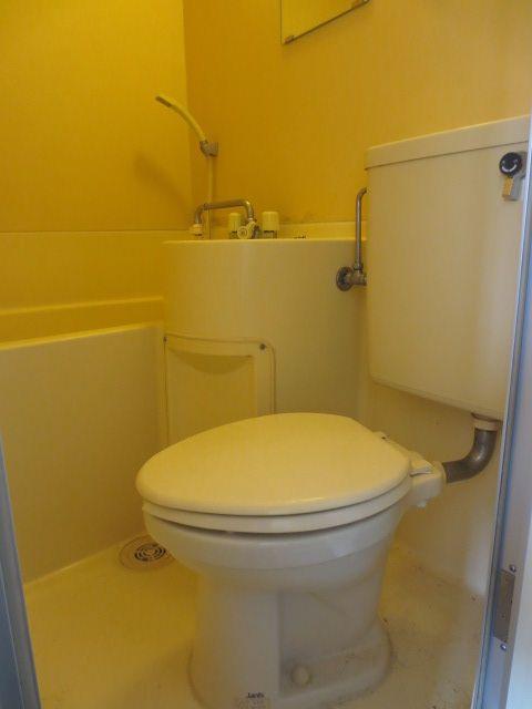 北見ハイツ 202号室のトイレ