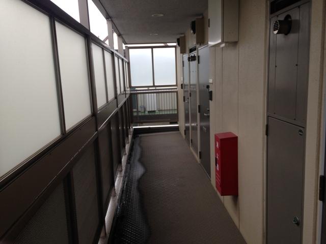 アンプルール フェール ClefⅡ 302号室のロビー