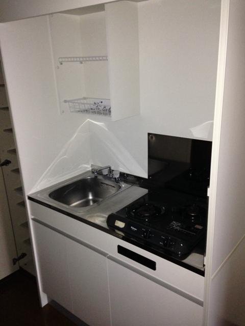 アンプルール フェール ClefⅡ 302号室のキッチン