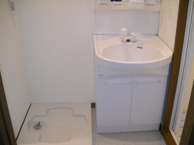 アンプルール フェール ClefⅡ 302号室の洗面所