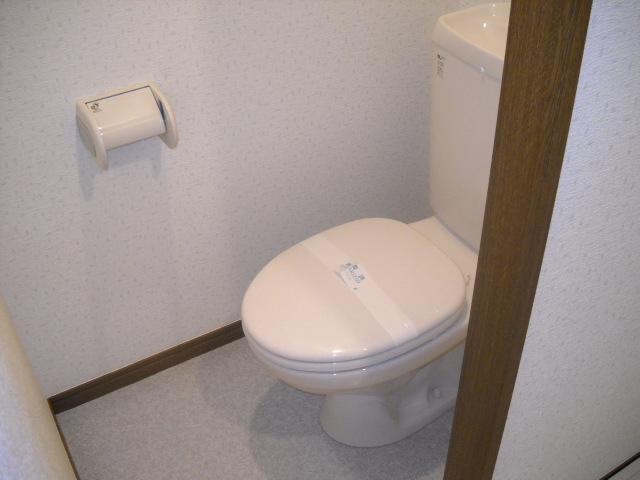 アンプルール フェール ClefⅡ 302号室のトイレ