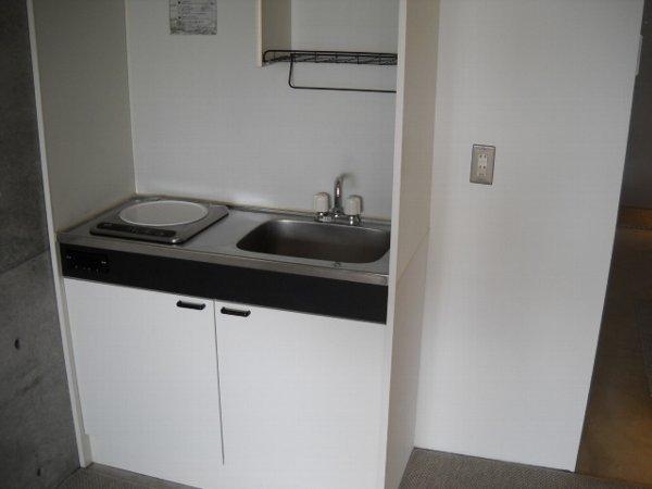quadro 205号室のキッチン