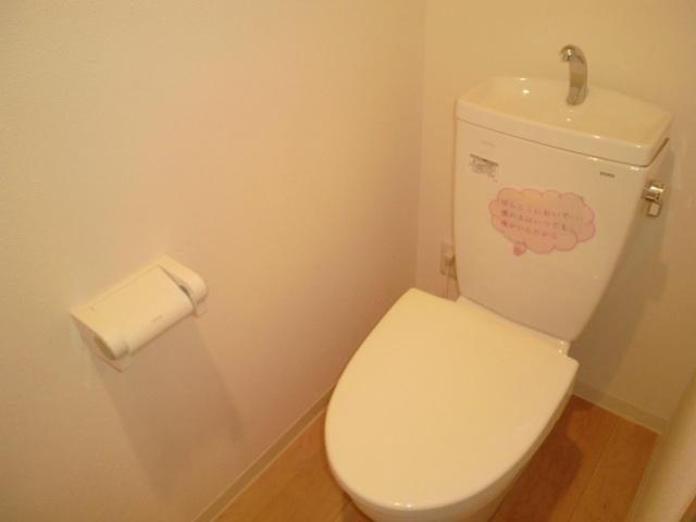 ルネス マリアンジェ 203号室のトイレ