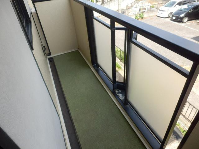 サンライフサワダ B201号室のバルコニー