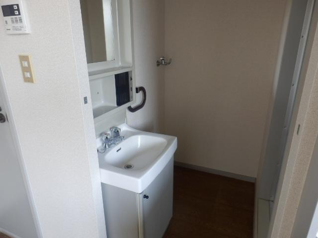 サンライフサワダ B201号室の洗面所