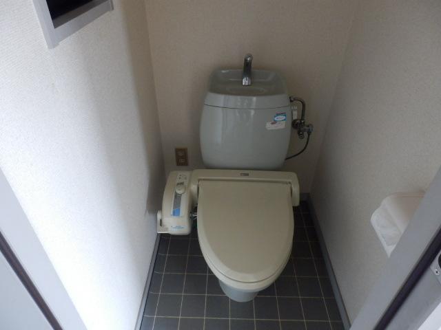 サンライフサワダ B201号室のトイレ