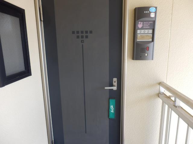 サンライフサワダ B201号室の玄関