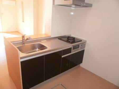 ボナール 102号室のキッチン