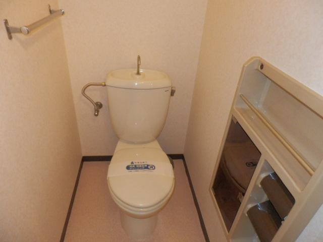 イーストヒルズ A201号室のトイレ