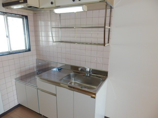 イーストヒルズ A201号室のキッチン