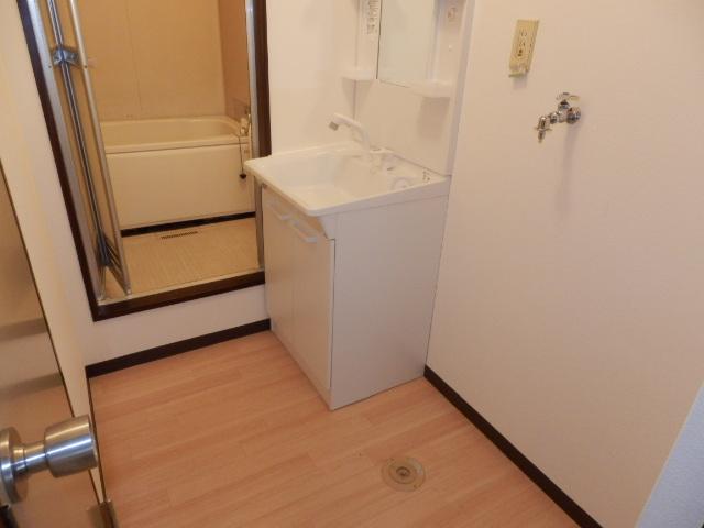 イーストヒルズ A201号室の洗面所