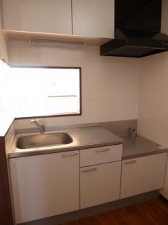 アクア A 105号室のキッチン
