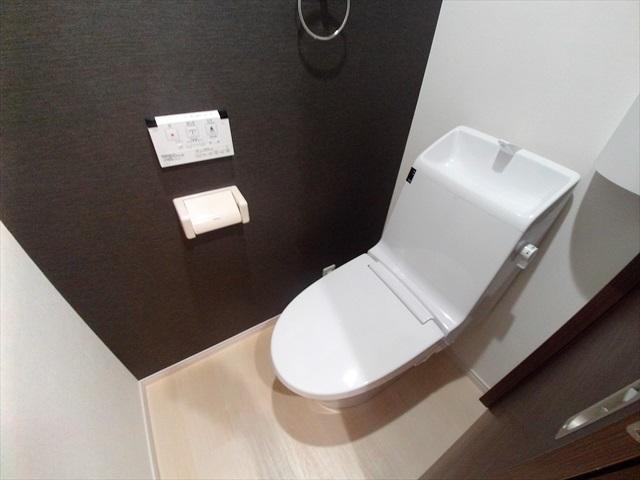 スプリーン 203号室のトイレ