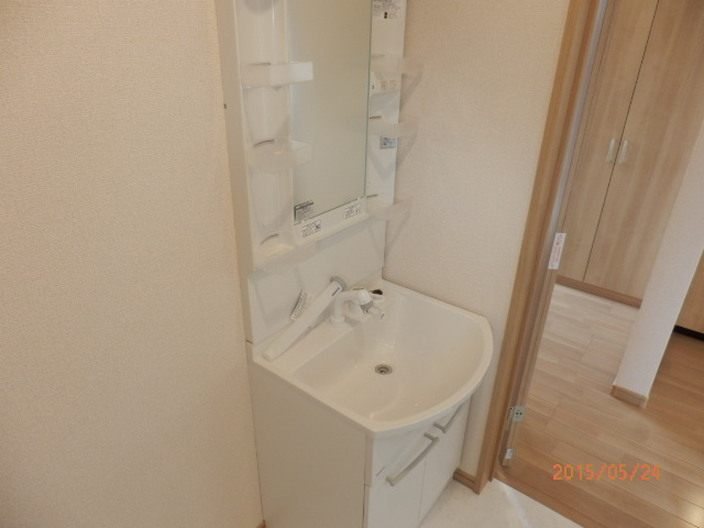 KC指扇 205号室の洗面所