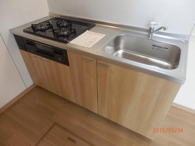 KC指扇 205号室のキッチン
