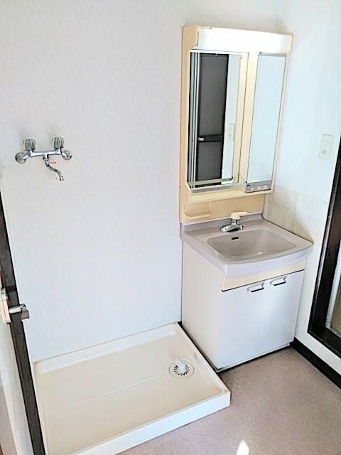 かわむらハウス 202号室の洗面所