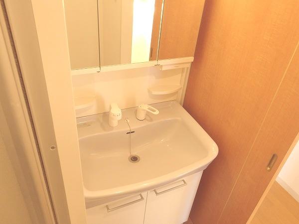 プレジール立川 205号室の洗面所