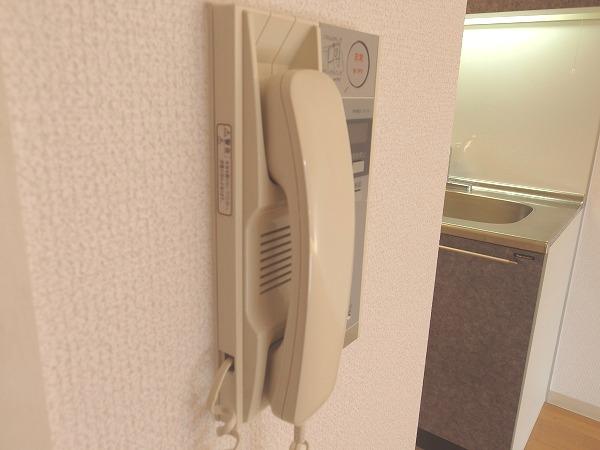 プレジール立川 205号室のセキュリティ