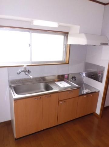 おおとりスカイホーム 303号室のキッチン