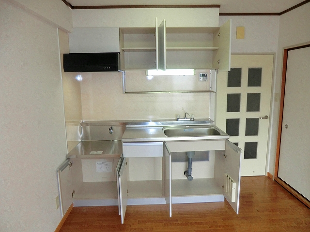 シャトーホソダA 203号室のキッチン