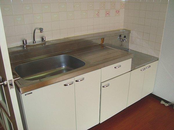シャトーホソダA 302号室のキッチン