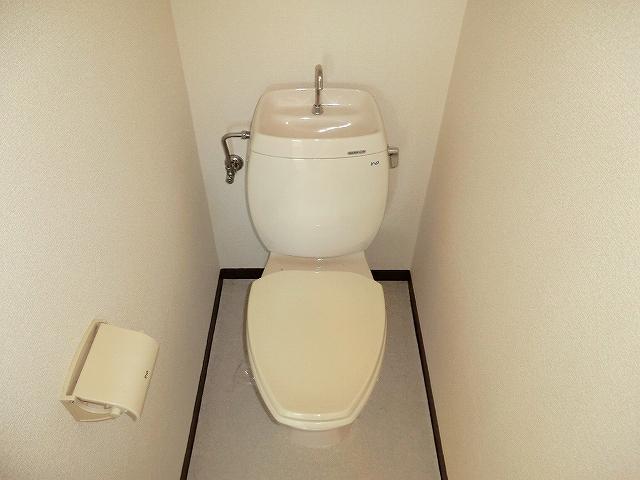 STハウス宗岡1号棟 201号室のトイレ
