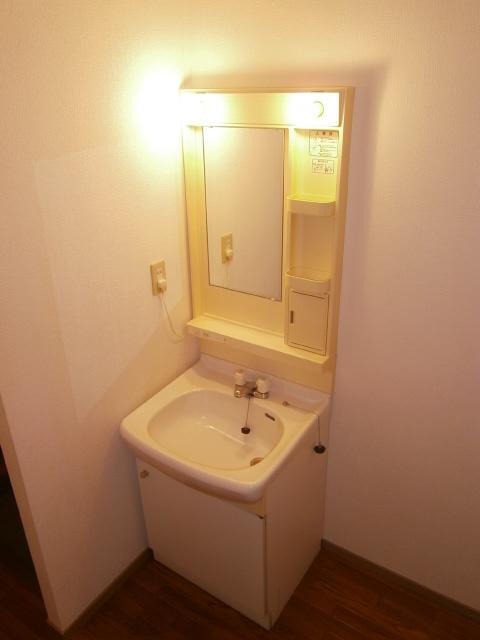パストラルⅢ 201号室の洗面所