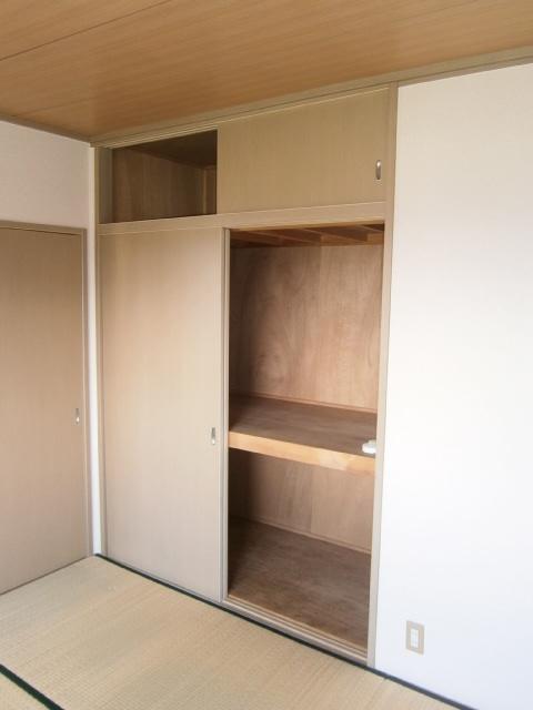 パストラルⅢ 201号室の収納