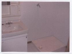 ビューラーあけぼの 102号室の洗面所