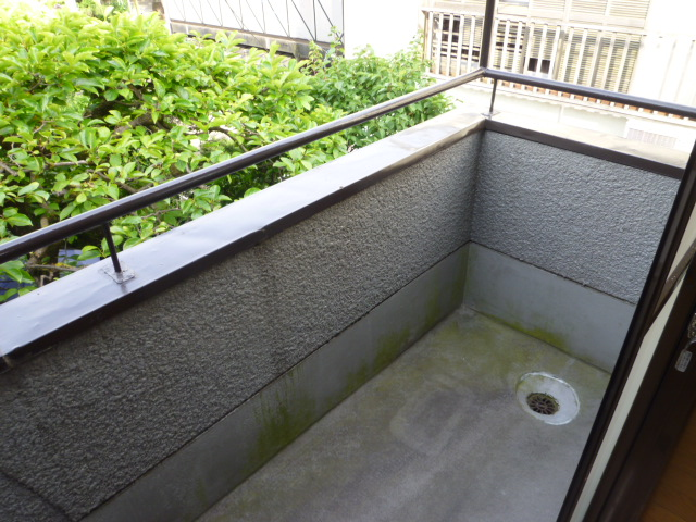 和田コーポ 201号室のバルコニー