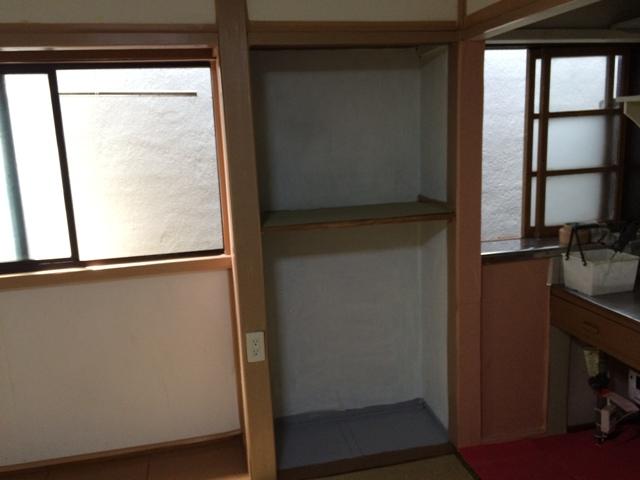 妙高荘 205号室の収納