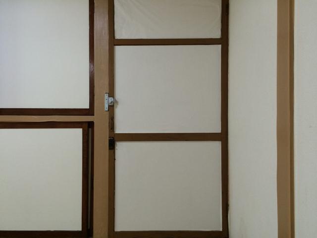 妙高荘 205号室の玄関