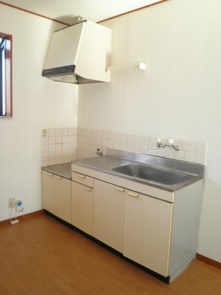 アクツハイツC 201号室のキッチン