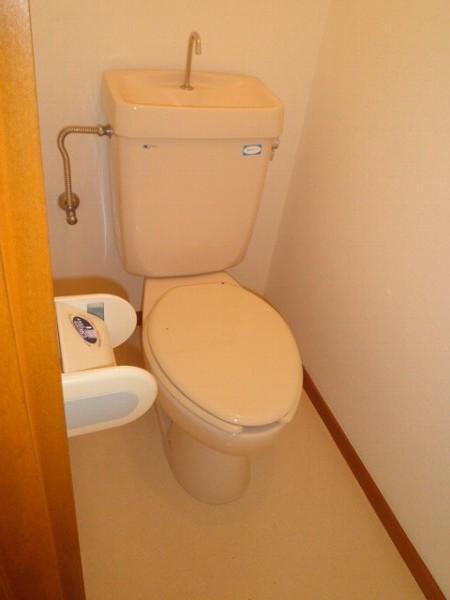 アクツハイツC 201号室のトイレ