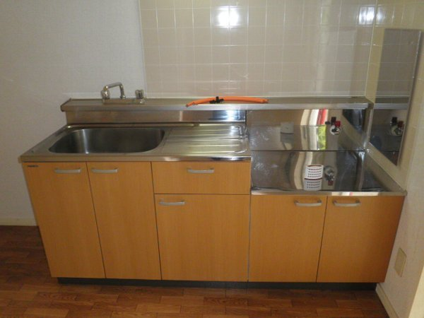 チェリーヒルズ 102号室のキッチン
