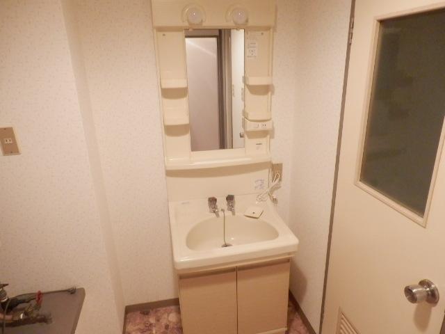 セントラルハイツ 301号室の洗面所
