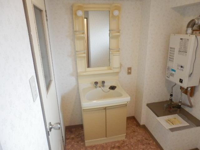 セントラルハイツ 404号室の洗面所