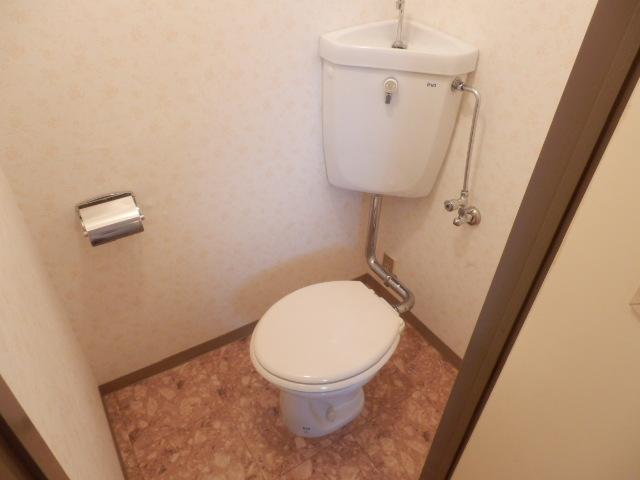 セントラルハイツ 404号室のトイレ