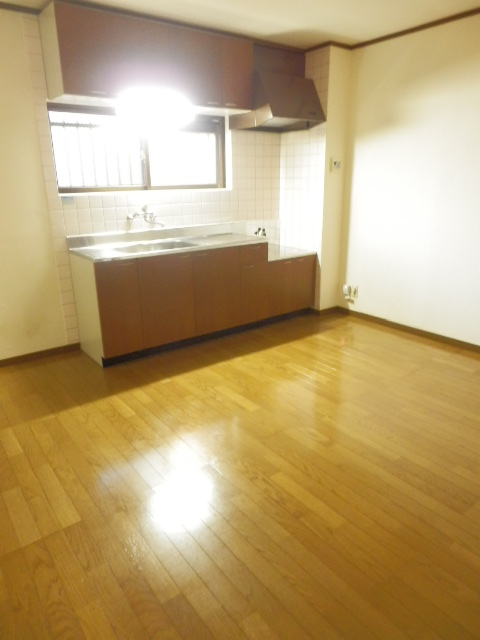 カームテラス御幸A 302号室のキッチン