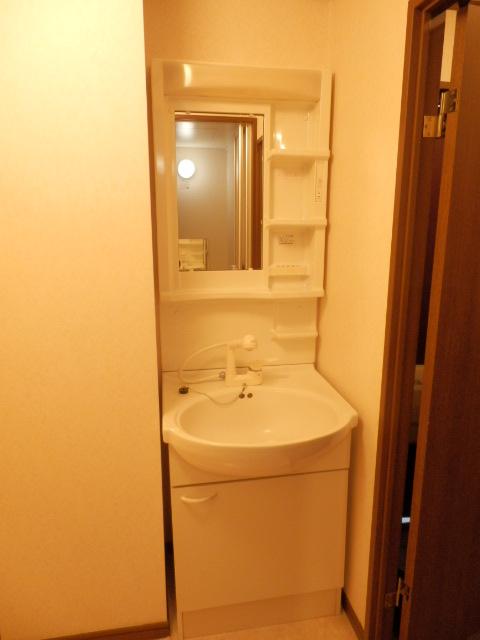 カームテラス御幸A 302号室の洗面所